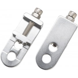 "Promax C-1 Pro Chain Tensioners for 3/8""/10mm Axles Silver"