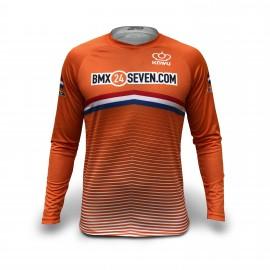Nationaal Slim-Fit Shirt Nederland 2019 met achternaam