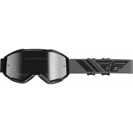 Fly  2019 Zone Goggle Black W/Silver Mirror Lens