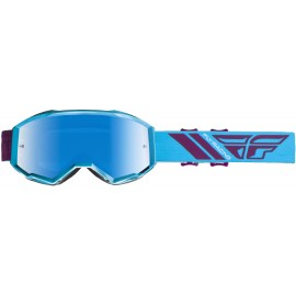 Fly  2019 Zone Goggle Blue/Port W/Blue Mirror Lens
