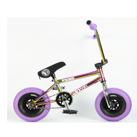 Wildcat Mini BMX 3Pcs Crank Oil Slick Purple