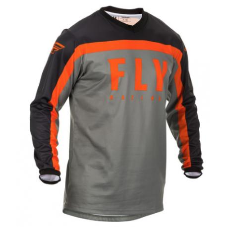 Fly F-16 2020 Jersey Grey/Black/Orange