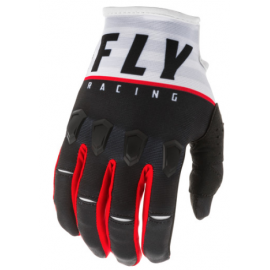 Fly Kinetic K120 2020 Gloves Black/White/Red