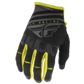Fly Kinetic K220 2020 Gloves Black/Grey/Hi-Vis