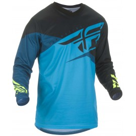 Fly F-16 2019 Jersey Blue/Black/Hivis