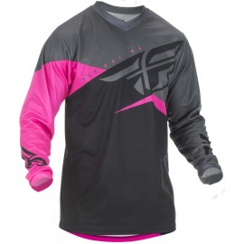 Fly F-16 2019 Jersey Neon pink/Black/Grey