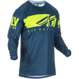 Fly Kinetic Shield 2019 Jersey Navy/Hi-Vis