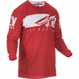Fly Kinetic Shield 2019 Jersey Red/White