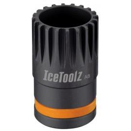 IceToolz Trapassleutel 11B1, 20-tands passing, zwart