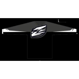 Zulu Race Jersey Black/Grey/White