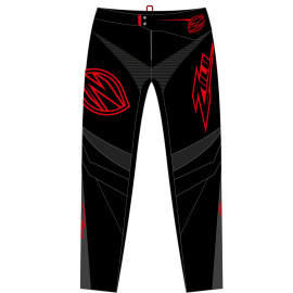 Zulu Pant Black/Red/Grey