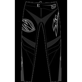 Zulu Pant Black/Grey/Light Grey