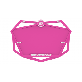 Stay Strong Plate Hot Pink