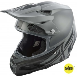 Fly F2 2019 Carbon Mips MX Helmet Shield Black/Grey