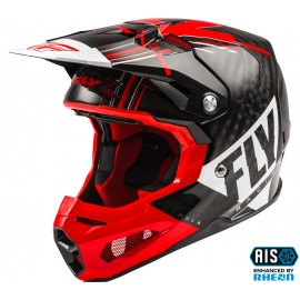 FLY Formula Vector Helmet Red/White/Black Carbon