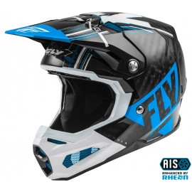 FLY Formula Vector Helmet Blue/White/Black Carbon