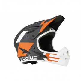 Evolve Storm Helmet Black/Orange