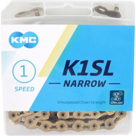 Kmc K1SL narrow 3/32 Ti-N  Gold