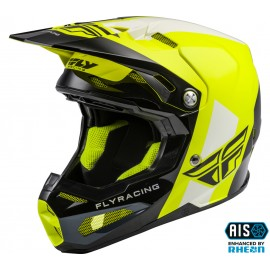FLY Formula Origin Helmet Black/Hi-Vis Carbon