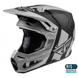 FLY Formula Origin Helmet Matte Black/Silver Carbon