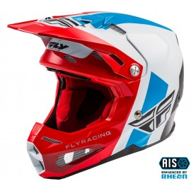 FLY Formula Origin Helmet Red/White/Blue Carbon