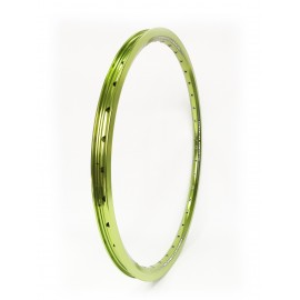 Sd Rim Double Wall With Eyelets Lime Green