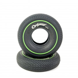 Wildcat Mini BMX Tire Black/Green