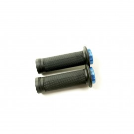Sd Mini Black V2 Lock On Grip 115Mm With Flange, V2 Lockrings Blue