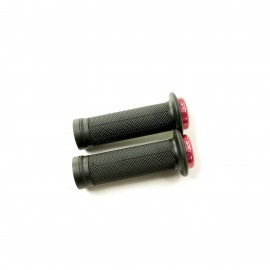 Sd Mini Black V2 Lock On Grip 115Mm With Flange, V2 Lockrings Red