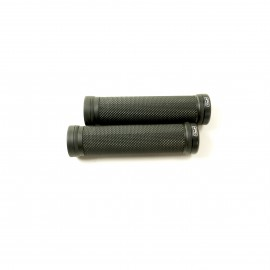 Sd Bmx/Mtb Black V2 Lock On Grip 130Mm Without Flange, V2 Lockrings Black