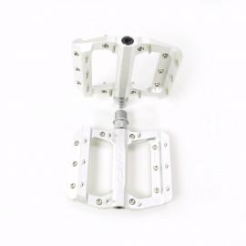 HT AE12 SX Bmx Platform CNC pedal Silver