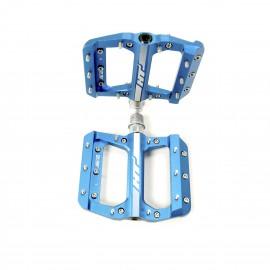 HT AE12 SX Bmx Platform CNC pedal Junior Blue