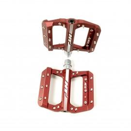 HT AE12 SX Bmx Platform CNC pedal Red