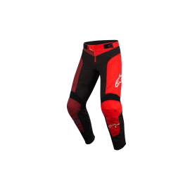 ALPINESTARS YOUTH VECTOR PANTS ANTHRACITE BRIGHT RED
