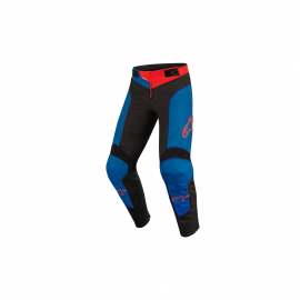 ALPINESTARS YOUTH VECTOR PANTS ANTHRACITE MID BLUE RED