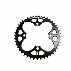 Sd Cnc 6061 V2 Chainring 4 Hole 104 Black