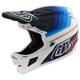 TroyLee Designs D4 carbon mirage navy / white