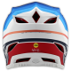 TroyLee Designs D4 carbon mirage navy / white