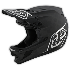 TroyLee Designs D4 carbon stealth black / silver