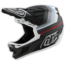 TroyLee Designs D4 composite mirage black / silver