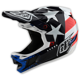 TroyLee Designs D4 composite freedom 2.0 red / white