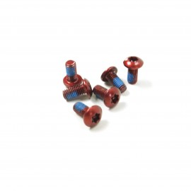 SD Bengal rotor fixing bolts M5 6pcs Red