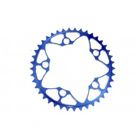 Sd-X Cnc 7075 Chainring 5 Hole 110 Blue