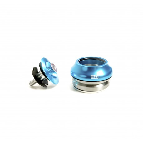 """Sd Integrated Headset Sealed 11/8"""" Cyan Blue"""