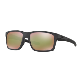 Oakley Mainlink Sunglasses OO9264-20  Matte Black-Grey / Prizm Green Lens