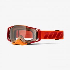 100% Armega goggle litkit true clear lens