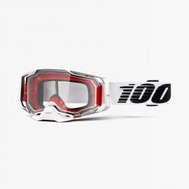 100% Armega goggle lightsaber clear lens