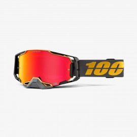 100% Armega goggle falcon 5 hiper red mirror