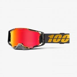 100% Armega goggle falcon 5 hiper red mirror