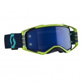 SCOTT Prospect goggle Blue/Yellow electric blue chrome works